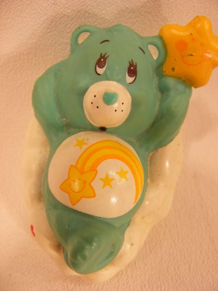 VINTAGE WISH CARE BEARS MINIATURE (2)